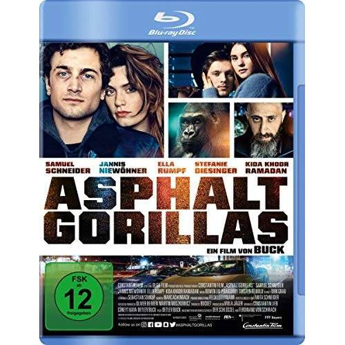 Schirach, Ferdinand von - Asphaltgorillas [Blu-ray] - Preis vom 26.02.2021 06:01:53 h