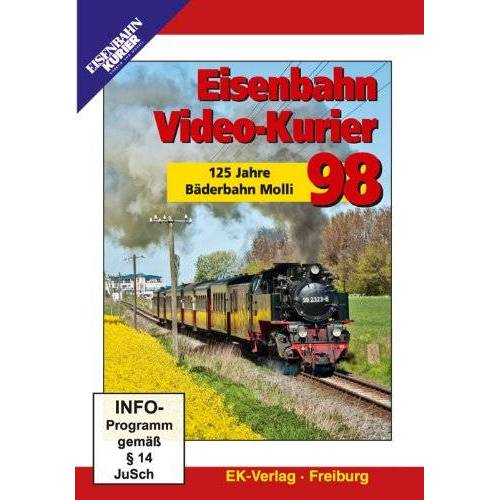 - Eisenbahn Video-Kurier 98 - 125 Jahre Bäderbahn Molli - Preis vom 12.05.2021 04:50:50 h