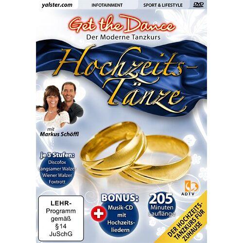 Various - Get the Dance - Hochzeitstänze *DVD + CD* - Preis vom 18.02.2020 05:58:08 h