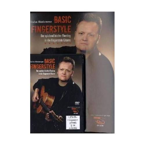 Stefan Mönkemeyer - Basic Fingerstyle: Der spielend leichte Einstieg in die Fingerstyle Gitarre, m. DVD - Preis vom 25.01.2021 05:57:21 h