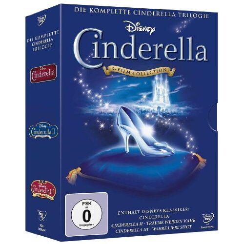 - Cinderella - Die komplette Cinderella Trilogie [3 DVDs] - Preis vom 07.05.2021 04:52:30 h