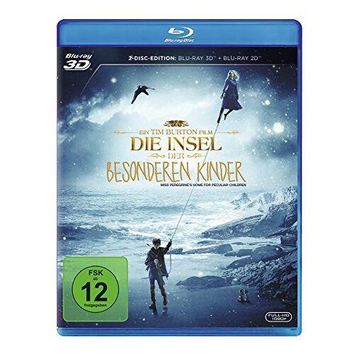 Tim Burton - Die Insel der besonderen Kinder [3D Blu-ray] - Preis vom 03.05.2021 04:57:00 h