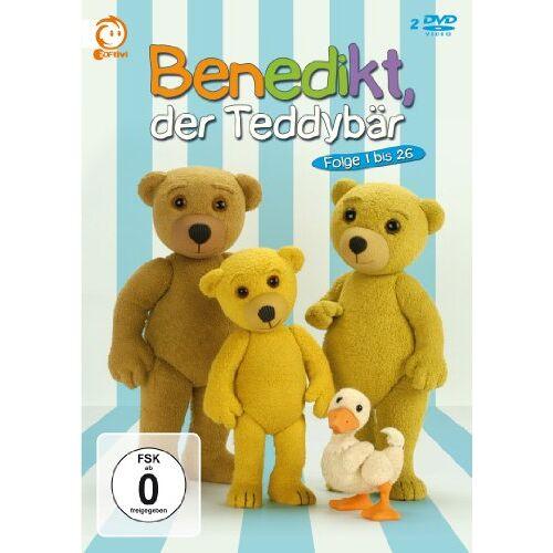 - Benedikt, der Teddybär - Folge 1-26 [2 DVDs] - Preis vom 27.02.2021 06:04:24 h