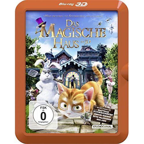 Ben Stassen - Das magische Haus  (inkl. 2D-Version) [3D Blu-ray] - Preis vom 20.10.2020 04:55:35 h