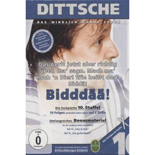 Olli Dittrich - Dittsche: Das wirklich wahre Leben - Die komplette 10. Staffel [2 DVDs] - Preis vom 10.04.2021 04:53:14 h