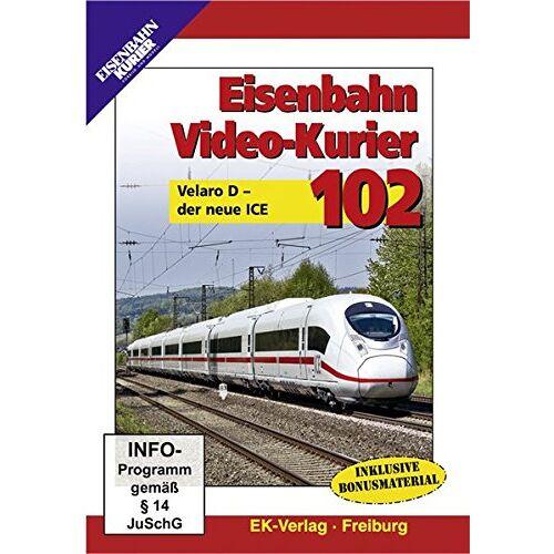 - Eisenbahn Video-Kurier 102 - Velaro D - der neue ICE - Preis vom 12.05.2021 04:50:50 h