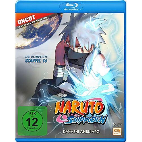 Hayato Date - Naruto Shippuden - Kakashi Anbu Arc - Staffel 16: Folge 569-581 [Blu-ray] - Preis vom 04.05.2021 04:55:49 h