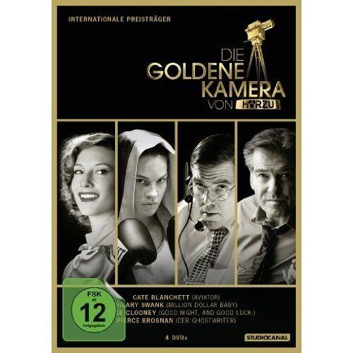 Martin Scorsese - Die Goldene Kamera von Hörzu - Internationale Preisträger [4 DVDs] - Preis vom 20.10.2020 04:55:35 h