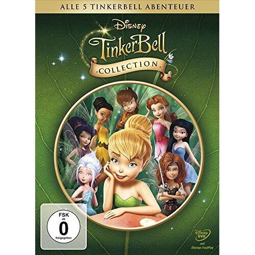 Bradley Raymond - Tinkerbell Collection - Alle 5 Tinkerbell Abenteuer (Geschenkbox, 5 Discs) - Preis vom 28.03.2020 05:56:53 h