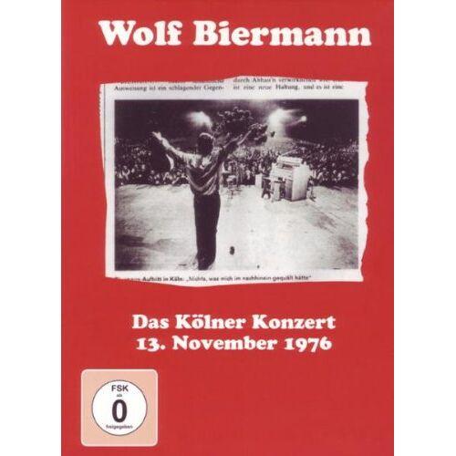 Wolf Biermann - Das Kölner Konzert 13. November 1976 [2 DVDs] - Preis vom 15.01.2021 06:07:28 h
