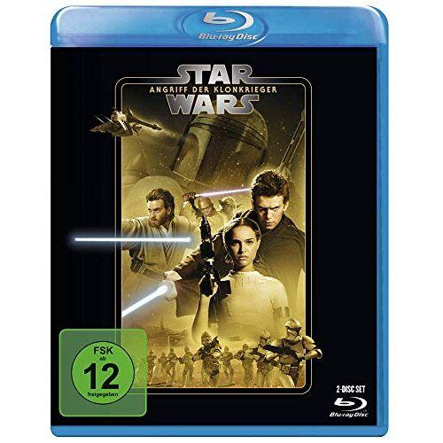 George Lucas - STAR WARS Ep. II: Angriff der Klonkrieger [Blu-ray] - Preis vom 24.02.2021 06:00:20 h