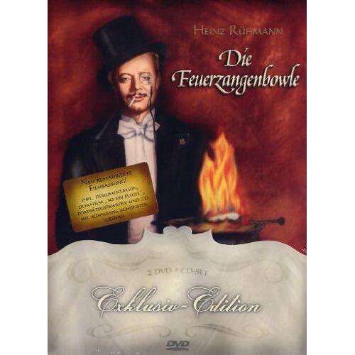 Helmut Weiss - Die Feuerzangenbowle (Exklusiv-Edition, + Audio-CD) [2 DVDs] - Preis vom 25.02.2021 06:08:03 h