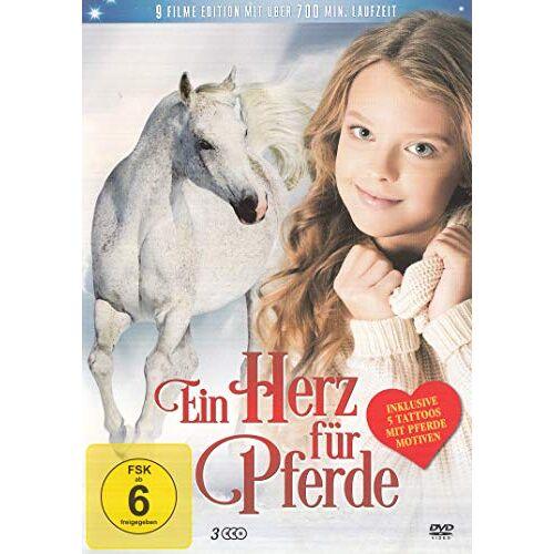 Shane Hawks - Ein Herz für Pferde - 9 Filme Inkl. 5 Pferde Tatoos - 3DVD Box - Preis vom 20.01.2020 06:03:46 h