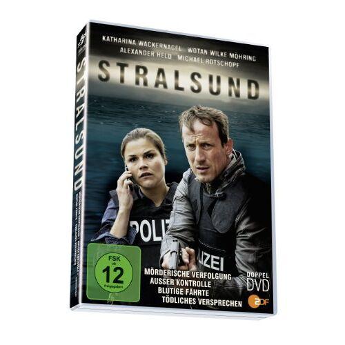 Katharina Wackernagel - Stralsund - Die komplette Reihe [2 DVDs] - Preis vom 31.03.2020 04:56:10 h