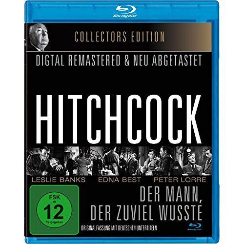 Alfred Hitchcock - Alfred Hitchcock: Der Mann, der zuviel wußte - OmU (1934) [Blu-ray] - Preis vom 14.05.2021 04:51:20 h