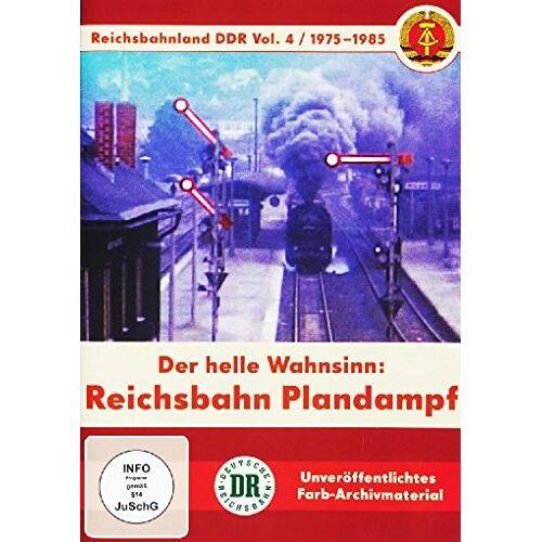 - Reichsbahnland DDR Vol. 4 - Reichsbahn Plandampf - Der helle Wahnsinn - Preis vom 24.02.2021 06:00:20 h