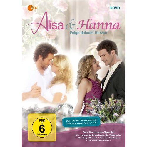 Walter A. Franke - Alisa & Hanna - Folge deinem Herzen: Das Hochzeits-Special [3 DVDs] - Preis vom 07.04.2020 04:55:49 h