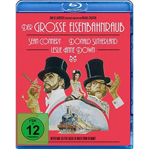 Michael Crichton - Der große Eisenbahnraub [Blu-ray] - Preis vom 25.02.2021 06:08:03 h
