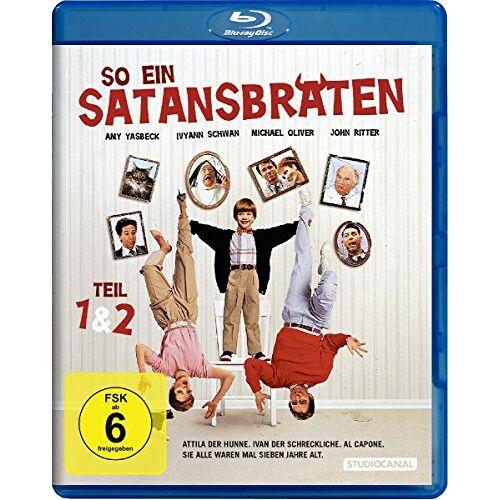 Dennis Dugan - So ein Satansbraten & So ein Satansbraten kommt selten allein [Blu-ray] - Preis vom 14.01.2021 05:56:14 h