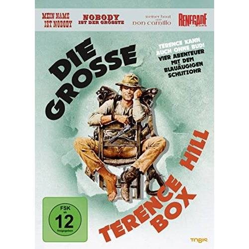 Terence Hill - Die große Terence Hill Box [4 DVDs] - Preis vom 17.01.2021 06:05:38 h