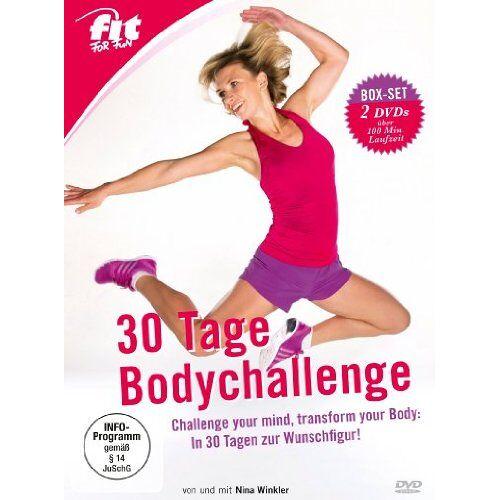 Nina Winkler - Fit for Fun - 30 Tage Bodychallenge [2 DVDs] - Preis vom 07.04.2021 04:49:18 h
