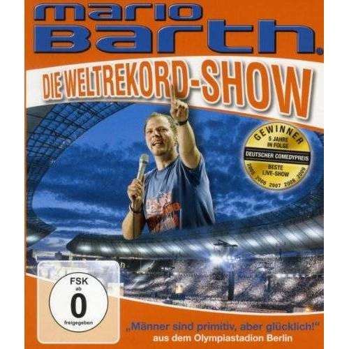 Mario Barth - Die Weltrekord-Show/Männer sind primitiv, aber glücklich [Blu-ray] - Preis vom 03.05.2021 04:57:00 h