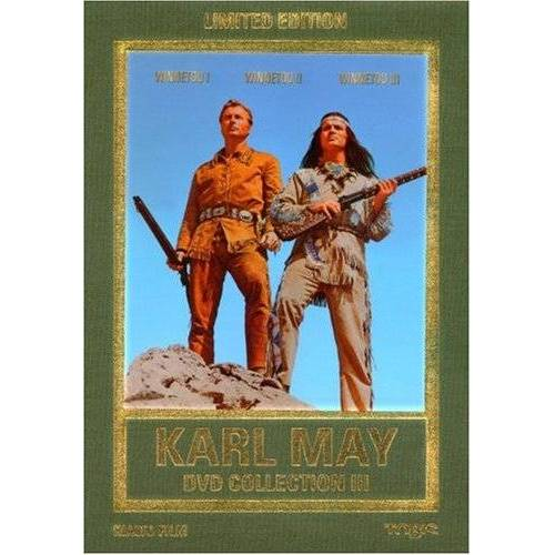 Harald Reinl - Karl May DVD-Collection 3 (Winnetou I/Winnetou II/Winnetou III) (3 DVDs) [Limited Edition] - Preis vom 13.05.2021 04:51:36 h