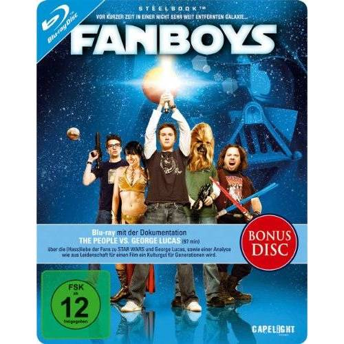 Kyle Newman - Fanboys - Steelbook [Blu-ray] (Limited Steelbook Edition) - Preis vom 31.03.2020 04:56:10 h