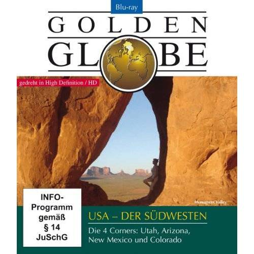 Gogol Lobmayr - USA Der Südwesten - Golden Globe [Blu-ray] - Preis vom 05.03.2021 05:56:49 h
