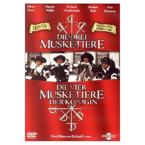 Richard Lester - Musketiere Box (Die drei Musketiere, Die vier Musketiere) [2 DVDs] - Preis vom 20.10.2020 04:55:35 h