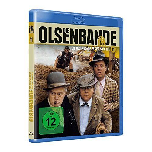 Erik Balling - Die Olsenbande - Ergibt sich nie [Blu-ray] - Preis vom 24.02.2021 06:00:20 h