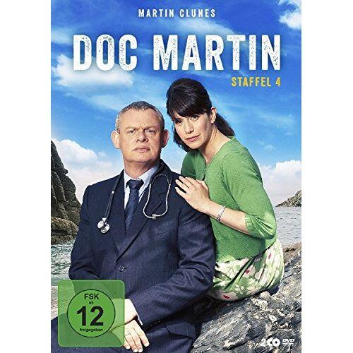 Martin Clunes - Doc Martin - Staffel 4 [2 DVDs] - Preis vom 18.04.2021 04:52:10 h