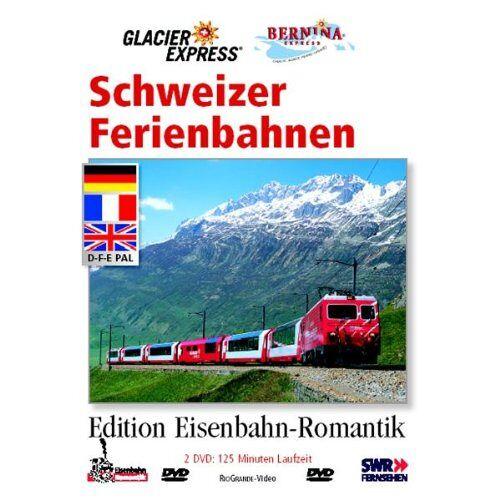 RioGrande - Schweizer Ferienbahnen [2 DVDs] - Preis vom 16.04.2021 04:54:32 h