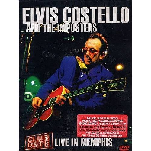 Elvis Costello - Elvis Costello and The Imposters - Club Date: Live in Memphis - Preis vom 20.10.2020 04:55:35 h