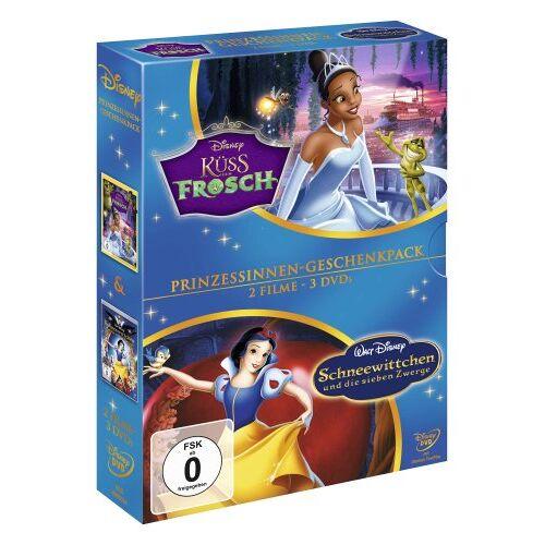 John Musker - Küss den Frosch / Schneewittchen und die sieben Zwerge [3 DVDs] - Preis vom 15.04.2021 04:51:42 h