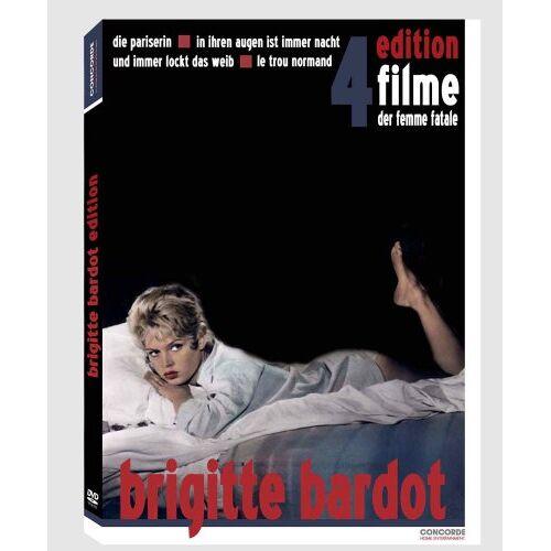 Brigitte Bardot - Brigitte Bardot Edition (4 DVDs) - Preis vom 28.03.2020 05:56:53 h