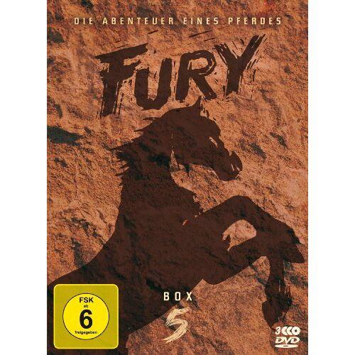 Ray Nazarro - Fury - Box 5 [3 DVDs] - Preis vom 25.02.2021 06:08:03 h