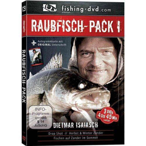 - Dietmar Isaiasch - Raubfisch Pack I [3 DVDs] - Preis vom 14.04.2021 04:53:30 h