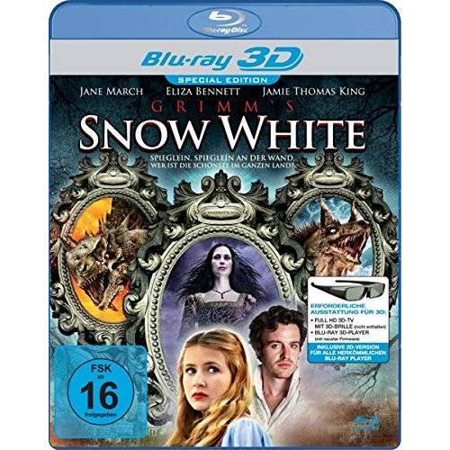Rachel Goldenberg - Grimm's Snow White - Real 3D [3D Blu-ray] - Preis vom 07.03.2021 06:00:26 h