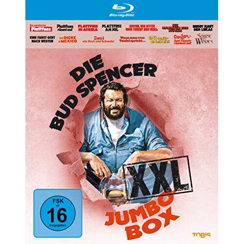 Bud Spencer - Die Bud Spencer Jumbo Box XXL [Blu-ray] - Preis vom 18.04.2021 04:52:10 h