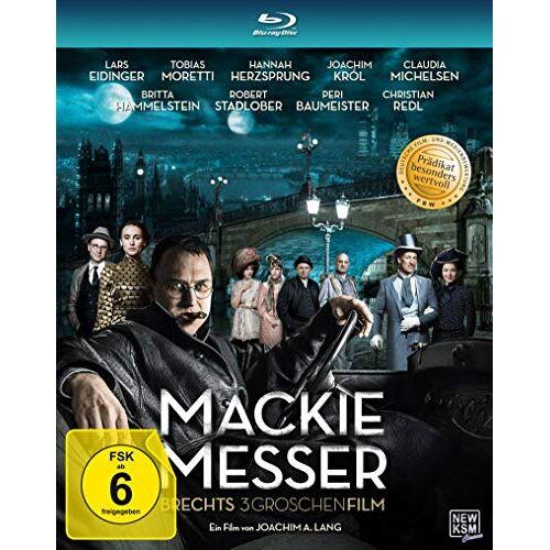 Joachim A. Lang - Mackie Messer - Brechts Dreigroschenfilm [Blu-ray] - Preis vom 25.02.2021 06:08:03 h