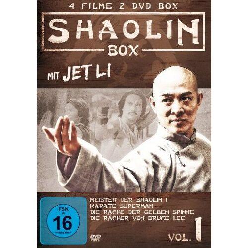 Jet Li - Shaolin Box [2 DVDs] - Preis vom 04.09.2020 04:54:27 h