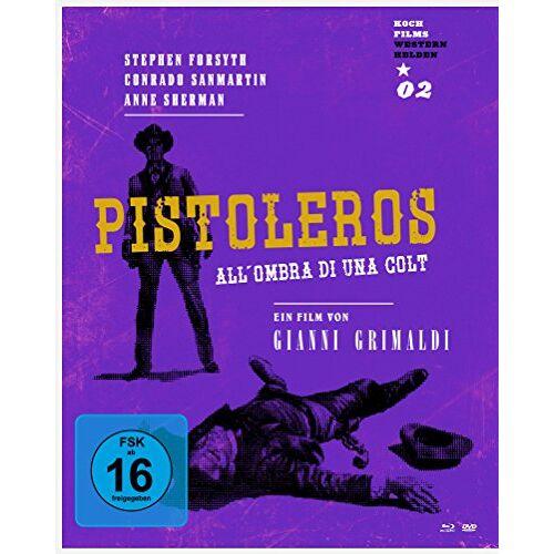 Giovanni Grimaldi - Pistoleros - Westernhelden # 2  (+ DVD) [Blu-ray] - Preis vom 28.01.2020 05:57:10 h