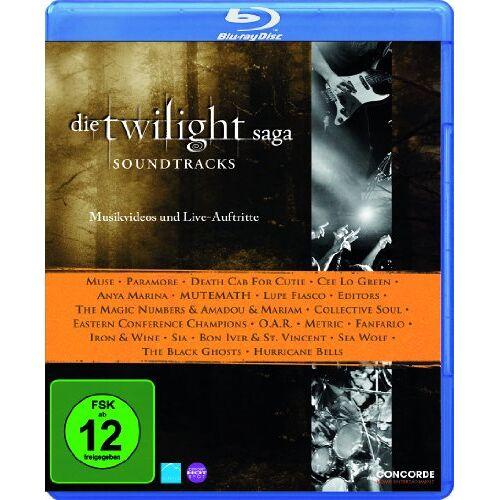 - Die Twilight Saga - Soundtracks (Musikvideos und Live-Auftritte) [Blu-ray] - Preis vom 14.04.2021 04:53:30 h