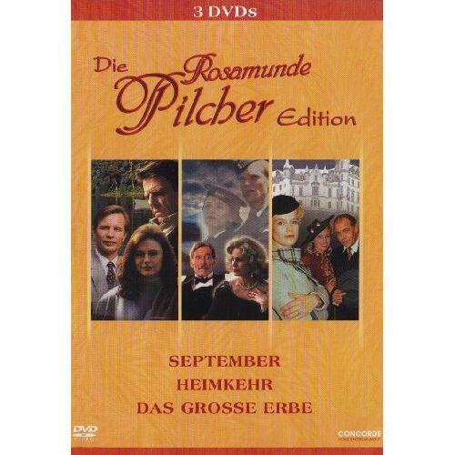 Rosamunde Pilcher - Die Rosamunde Pilcher Edition [3 DVDs] - Preis vom 20.10.2020 04:55:35 h
