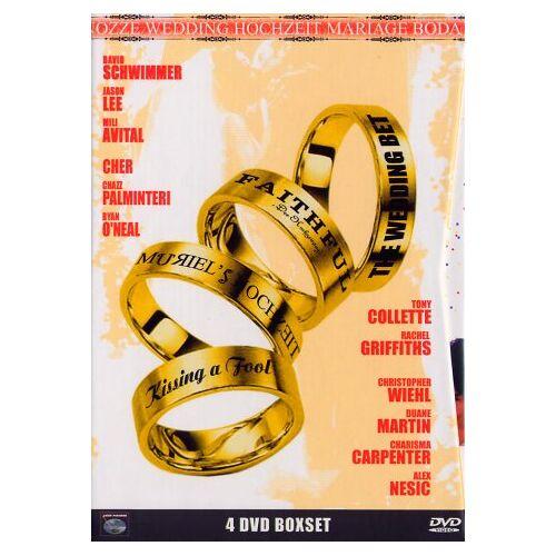 P. J. Hogan - Hochzeits-Box [4 DVDs] - Preis vom 22.02.2021 05:57:04 h