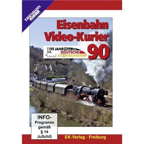 - Eisenbahn Video-Kurier 90 - 175 Jahre Deutsche Eisenbahn - Preis vom 06.04.2021 04:49:59 h