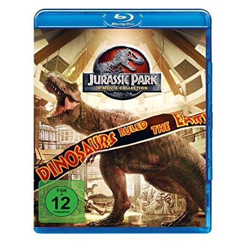 Steven Spielberg - Jurassic Park 1-3 + Jurassic World 1 [Blu-ray] - Preis vom 18.10.2020 04:52:00 h