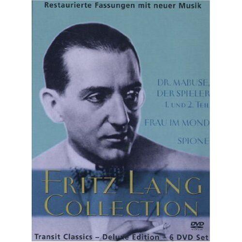 Fritz Lang - Fritz Lang Collection [6 DVDs] - Preis vom 20.10.2020 04:55:35 h
