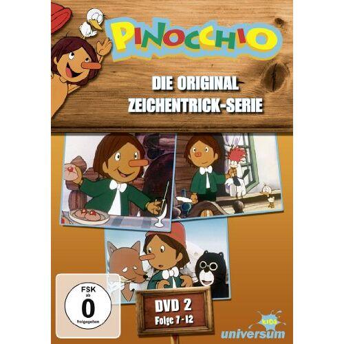 - Pinocchio - DVD 02 (Folgen 7-12) - Preis vom 12.05.2021 04:50:50 h